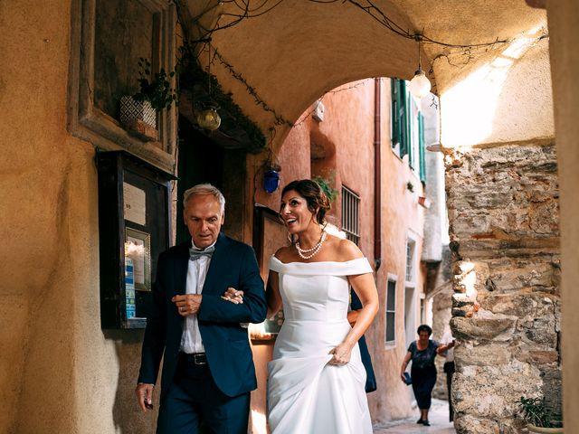 Il matrimonio di Andrea e Valentina a Borgio Verezzi, Savona 36