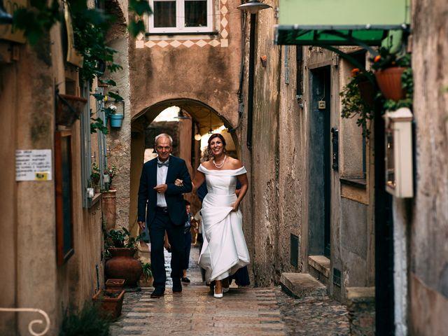 Il matrimonio di Andrea e Valentina a Borgio Verezzi, Savona 37