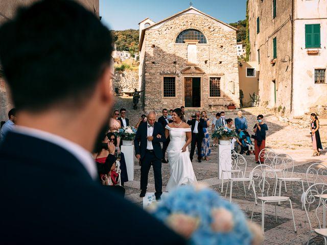 Il matrimonio di Andrea e Valentina a Borgio Verezzi, Savona 41