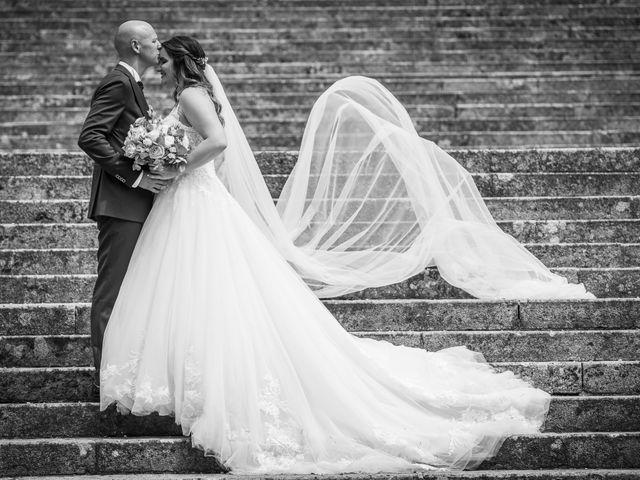 Le nozze di Alessandra e Cristian