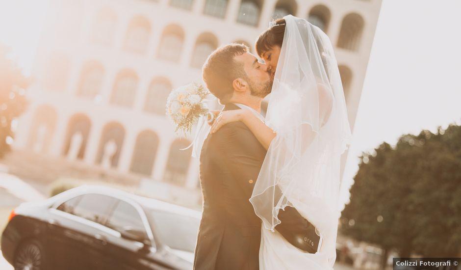 Il matrimonio di Andrea e Anna a Roma, Roma