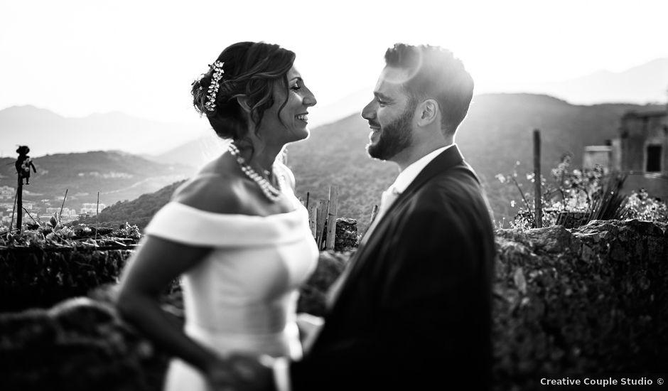 Il matrimonio di Andrea e Valentina a Borgio Verezzi, Savona