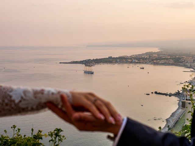 Il matrimonio di Marco e Agata a Taormina, Messina 1
