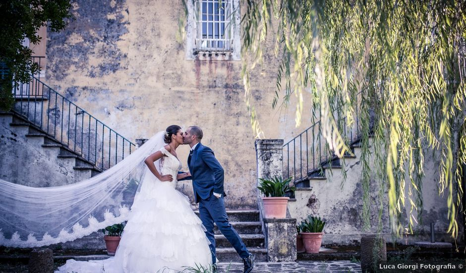 Il matrimonio di Damiano e Serena a Vezzano Ligure, La Spezia