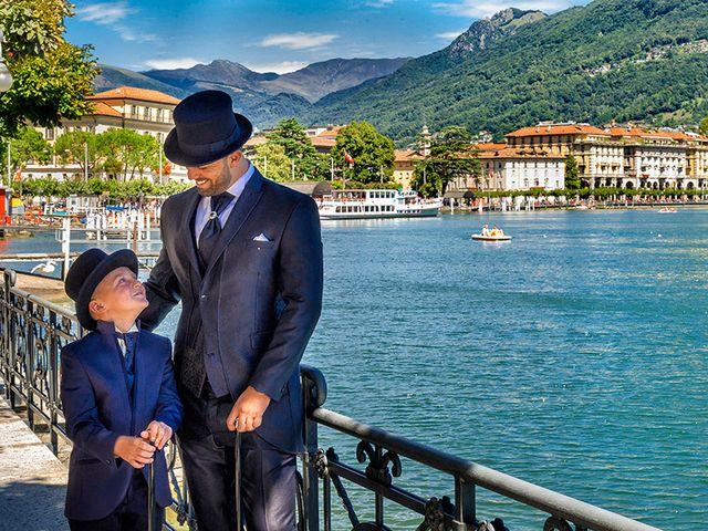 Il matrimonio di Ros e Virginie a Venegono Inferiore, Varese 5