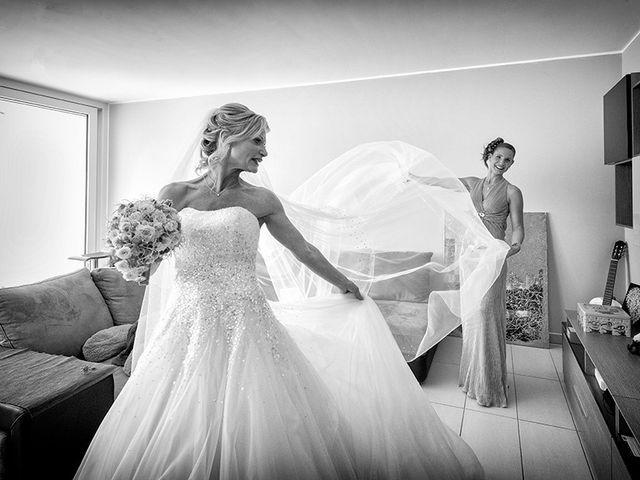 Il matrimonio di Ros e Virginie a Venegono Inferiore, Varese 8