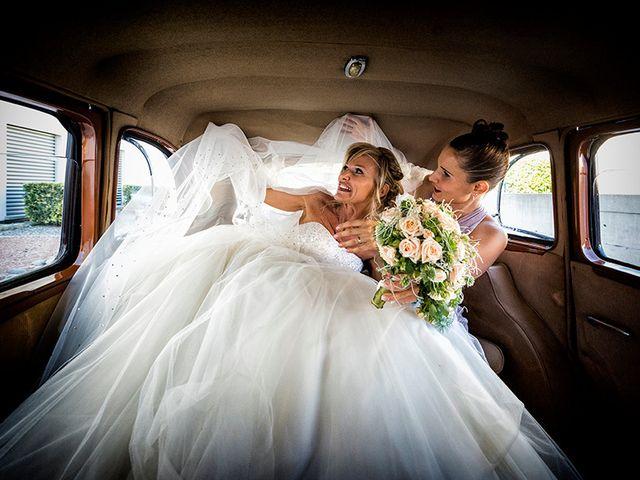 Il matrimonio di Ros e Virginie a Venegono Inferiore, Varese 10
