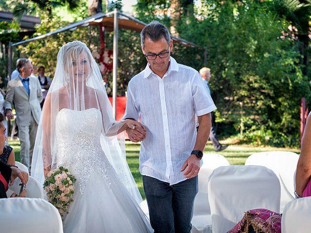 Il matrimonio di Ros e Virginie a Venegono Inferiore, Varese 11