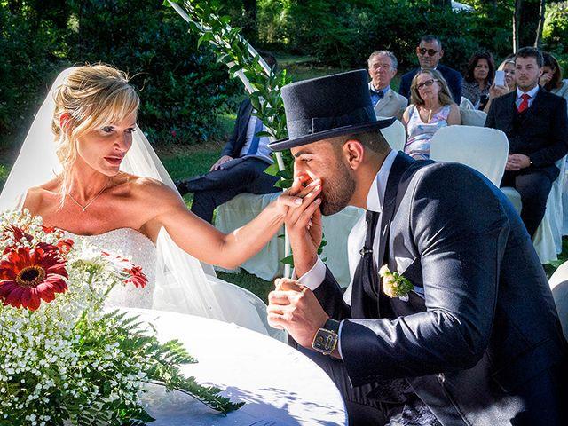 Il matrimonio di Ros e Virginie a Venegono Inferiore, Varese 13
