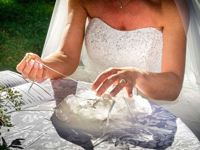 Il matrimonio di Ros e Virginie a Venegono Inferiore, Varese 15