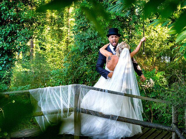 Il matrimonio di Ros e Virginie a Venegono Inferiore, Varese 17