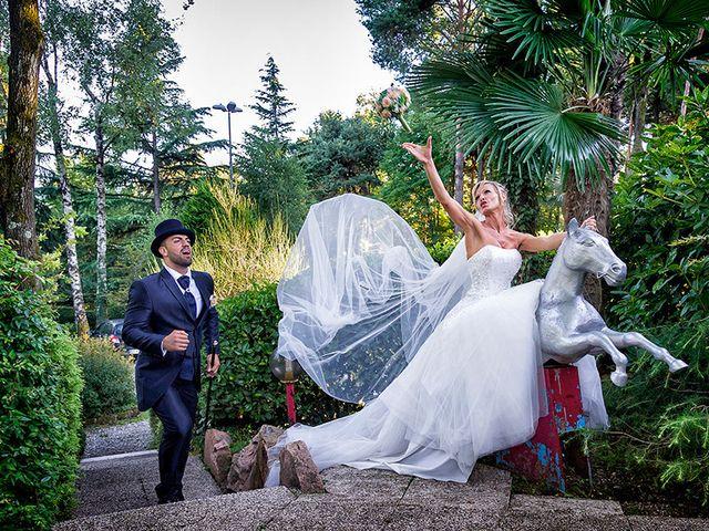 Il matrimonio di Ros e Virginie a Venegono Inferiore, Varese 19