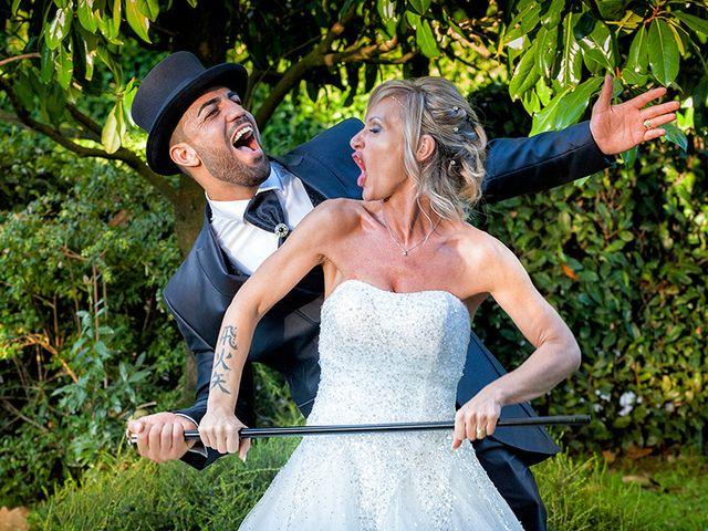 Il matrimonio di Ros e Virginie a Venegono Inferiore, Varese 20