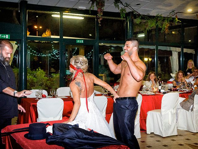 Il matrimonio di Ros e Virginie a Venegono Inferiore, Varese 22