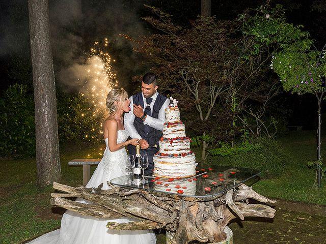Il matrimonio di Ros e Virginie a Venegono Inferiore, Varese 23