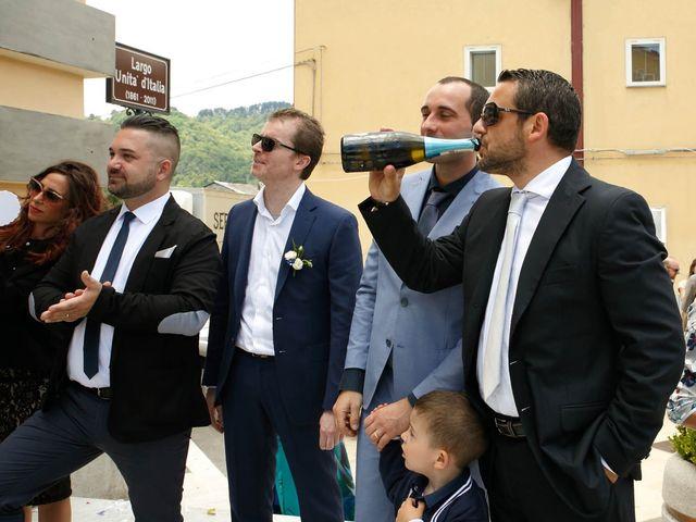 Il matrimonio di Pio e Federica a Fossato Serralta, Catanzaro 5