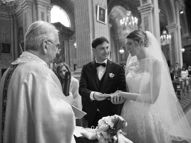 Il matrimonio di Alberto e Elisa a Frassineto Po, Alessandria 18