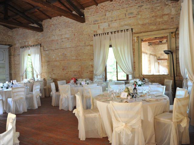 Il matrimonio di Alberto e Elisa a Frassineto Po, Alessandria 21