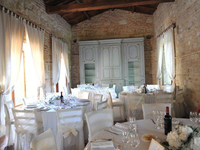 Il matrimonio di Alberto e Elisa a Frassineto Po, Alessandria 23