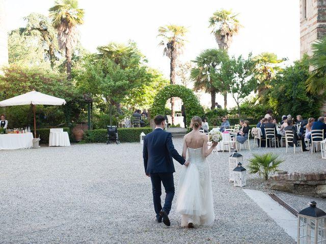 Il matrimonio di Alberto e Elisa a Frassineto Po, Alessandria 27
