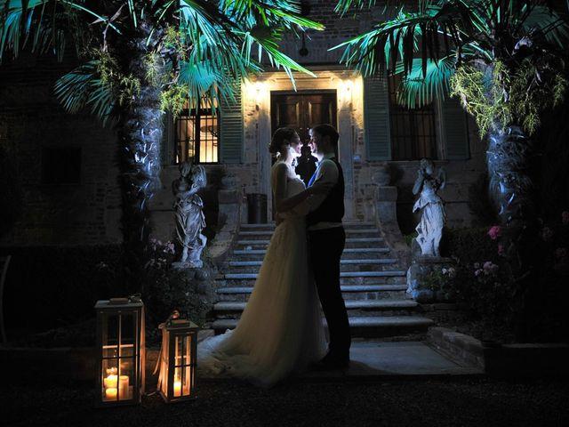 Il matrimonio di Alberto e Elisa a Frassineto Po, Alessandria 32