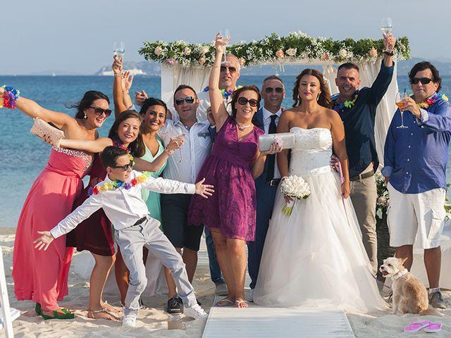 Il matrimonio di Salvatore  e Cristina a Golfo Aranci, Sassari 13