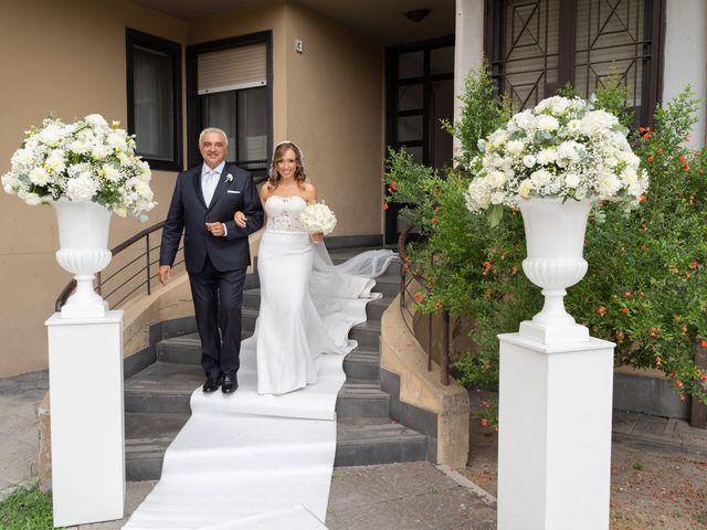 Il matrimonio di Mario e Simona a Lettere, Napoli 25