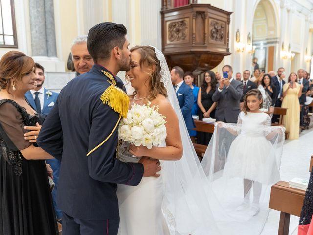 Il matrimonio di Mario e Simona a Lettere, Napoli 32
