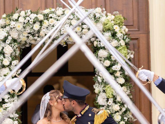Il matrimonio di Mario e Simona a Lettere, Napoli 42