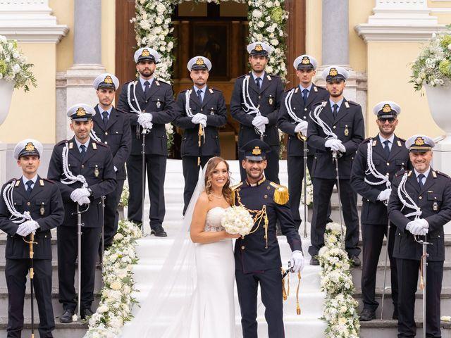 Il matrimonio di Mario e Simona a Lettere, Napoli 43