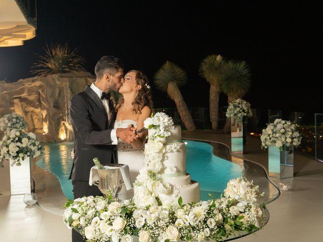 Il matrimonio di Mario e Simona a Lettere, Napoli 70