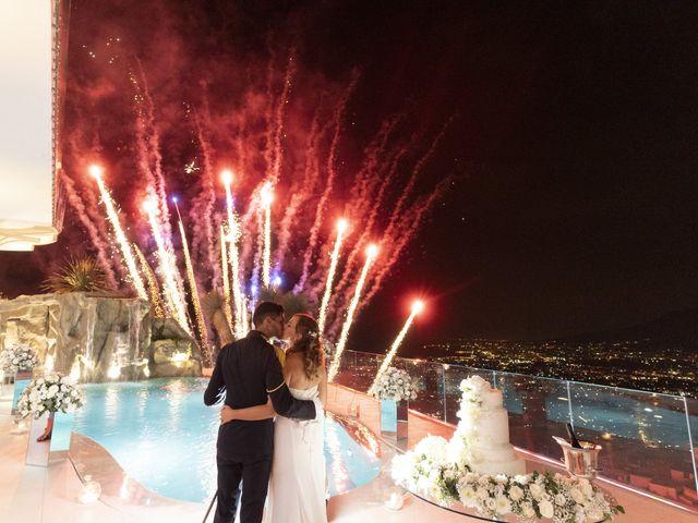 Il matrimonio di Mario e Simona a Lettere, Napoli 73