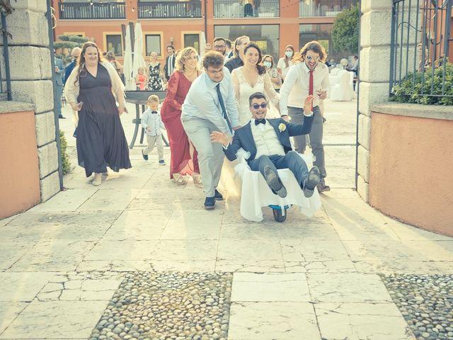 Il matrimonio di Silvia e Stefano a Desenzano del Garda, Brescia 206