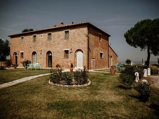 Il matrimonio di Marcello e Chiara a Buonconvento, Siena 1