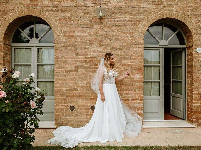 Il matrimonio di Marcello e Chiara a Buonconvento, Siena 13