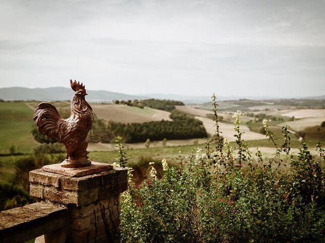 Il matrimonio di Marcello e Chiara a Buonconvento, Siena 15