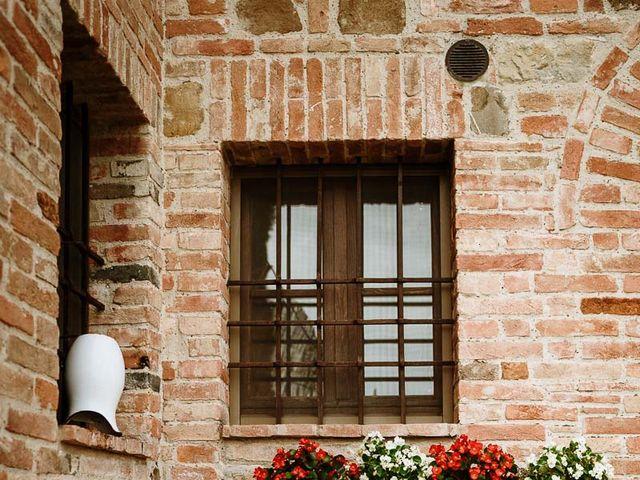 Il matrimonio di Marcello e Chiara a Buonconvento, Siena 21