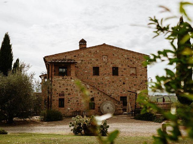 Il matrimonio di Marcello e Chiara a Buonconvento, Siena 22