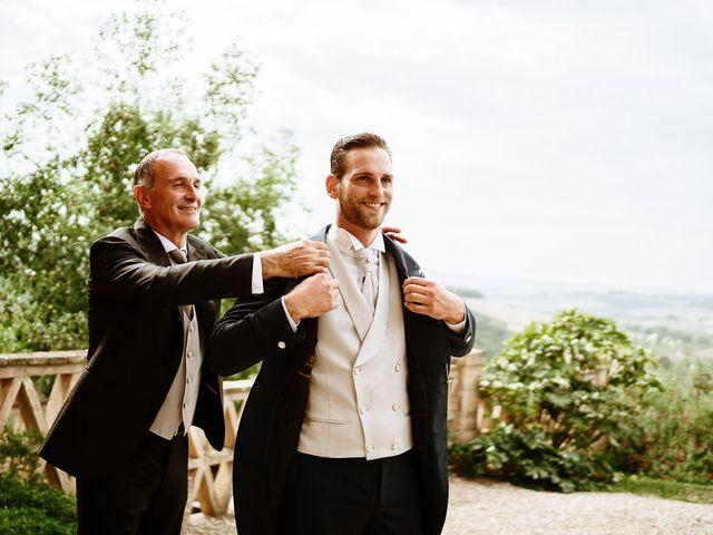 Il matrimonio di Marcello e Chiara a Buonconvento, Siena 25