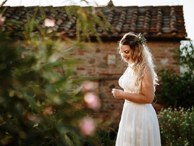 Il matrimonio di Marcello e Chiara a Buonconvento, Siena 27