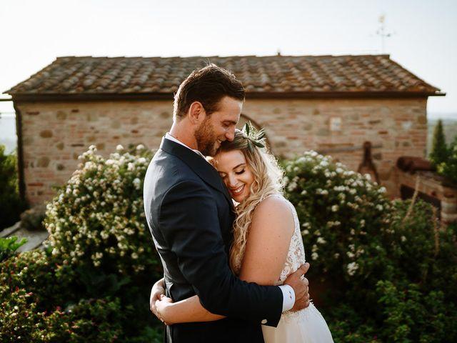 Il matrimonio di Marcello e Chiara a Buonconvento, Siena 28