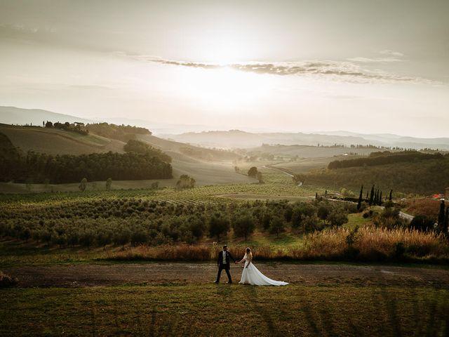 Il matrimonio di Marcello e Chiara a Buonconvento, Siena 30