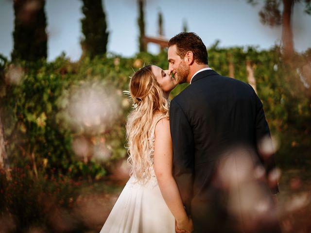Il matrimonio di Marcello e Chiara a Buonconvento, Siena 31