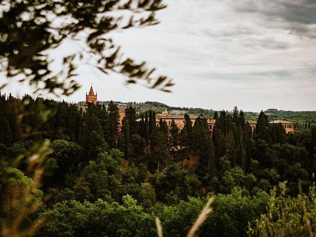 Il matrimonio di Marcello e Chiara a Buonconvento, Siena 33