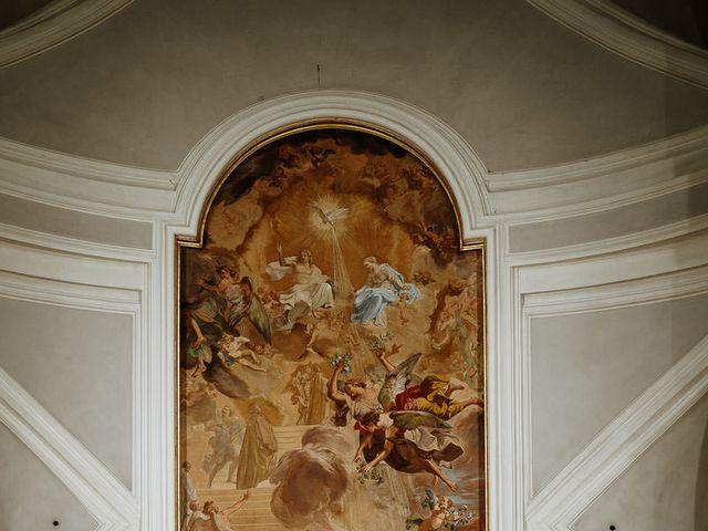 Il matrimonio di Marcello e Chiara a Buonconvento, Siena 34