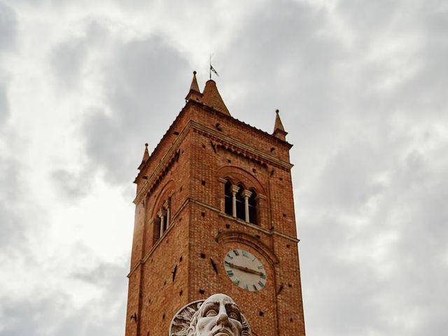 Il matrimonio di Marcello e Chiara a Buonconvento, Siena 35