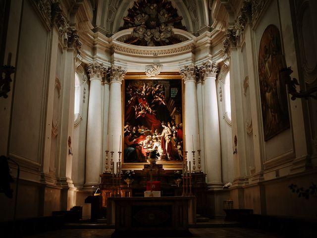 Il matrimonio di Marcello e Chiara a Buonconvento, Siena 36