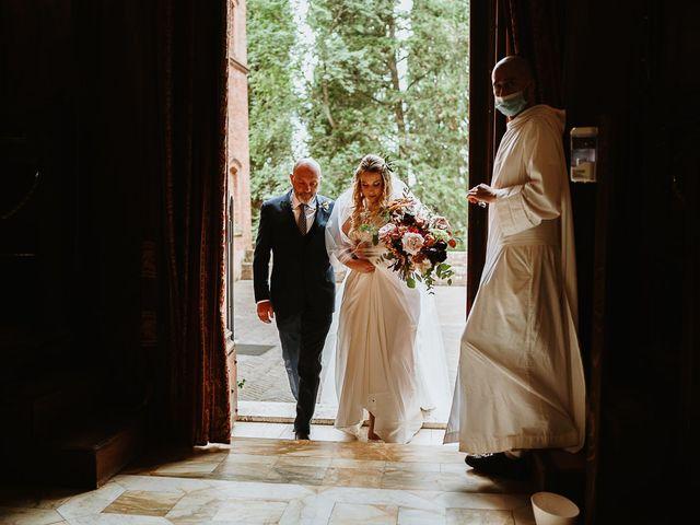 Il matrimonio di Marcello e Chiara a Buonconvento, Siena 41