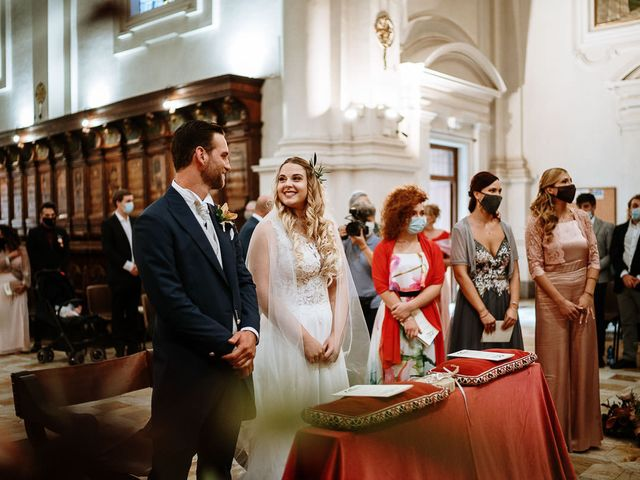 Il matrimonio di Marcello e Chiara a Buonconvento, Siena 44