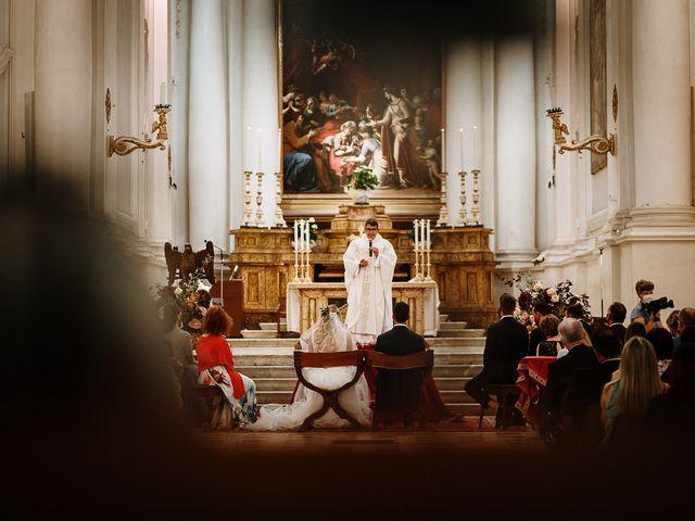 Il matrimonio di Marcello e Chiara a Buonconvento, Siena 45